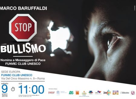 Against Bullism, event in Rome with Marco Baruffaldi