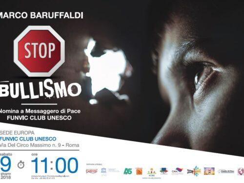 Contro il Bullismo, evento a Roma con Marco Baruffaldi