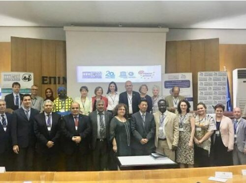 Il ns Presidente FUNVIC (e BFUCA), Luís Otávio Palhari, ha partecipato alla riunione congiunta delle Federazioni Europea e Mondiale dei Club, Centri ed Associazioni per l'UNESCO