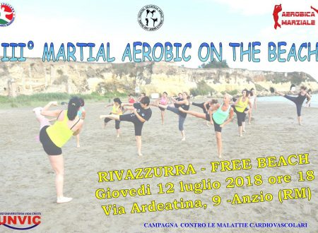 SPORT E SALUTE: FITNESS ON THE BEACH AD ANZIO