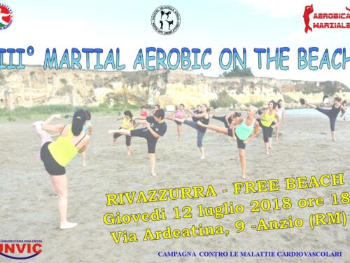 SPORTS AND HEALTH: FITNESS ON THE BEACH IN ANZIO (RM)