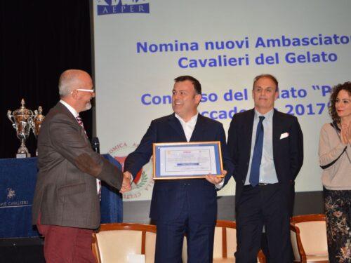 Master Chef Fabio Campoli, Ambasciatore di Pace FUNVIC