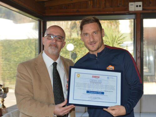 Francesco Totti, Ambassador of Peace FUNVIC