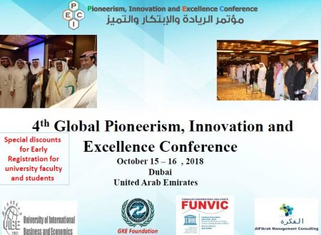 THE PROJECT I.R.C. FUNVIC EUROPE CHOSEN TO DUBAI AS EXCELLENCE TECHNOLOGICAL INNOVATION 2018