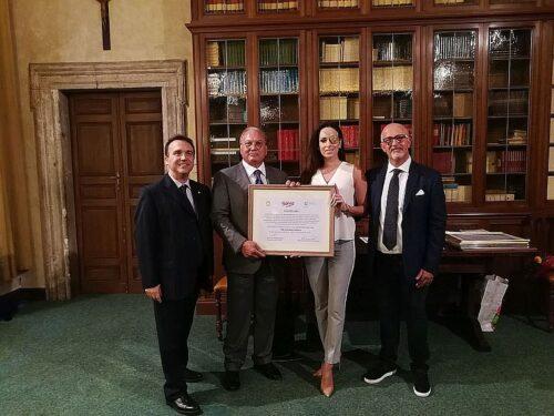 Gessica Notaro, Messaggero di Pace FUNVIC Europa