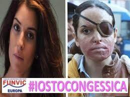 Contro la Violenza sulle donne: la FUNVIC #iostocongessica