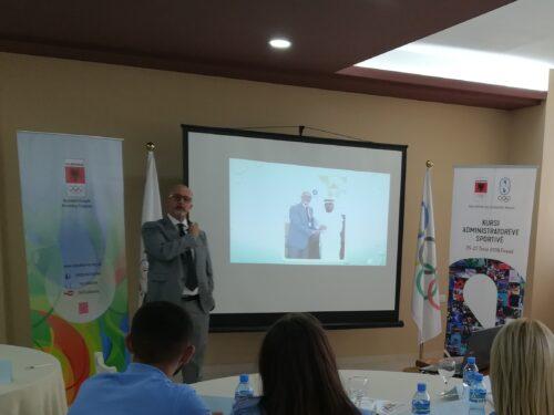 FUNVIC Europa presenta al Comitato Olimpico Albanese il progetto IRC 'Prevenzione Infortuni Muscolari' nello sport