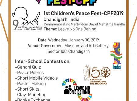 FUNVIC Europa for CHILDREN'S PEACE FEST-CPF