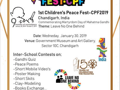 FUNVIC Europa per CHILDREN'S PEACE FEST-CPF
