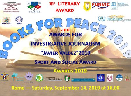 FUNVIC EUROPA and BOOKS for PEACE 2019
