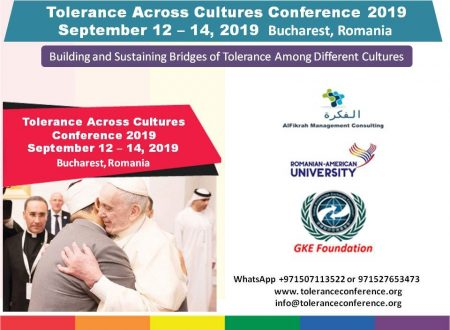 FUNVIC EUROPA promotes Tolerance across Cultures Conference