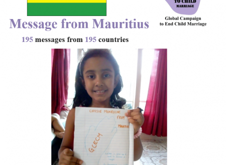 FUNVIC EUROPA with Global Campaign to End Child Marriage  CGECM