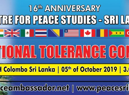 FUNVIC EUROPA International Tolerance Conferance CPS SRI LANKA