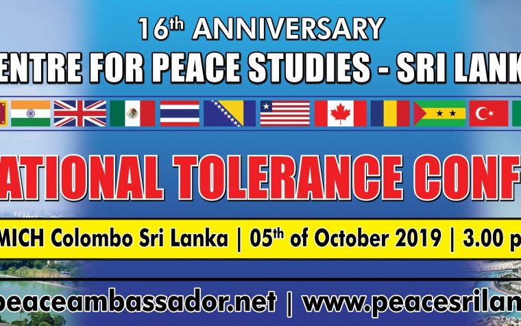 FUNVIC EUROPA International Tolerance Conferance CPS SRI LANKA