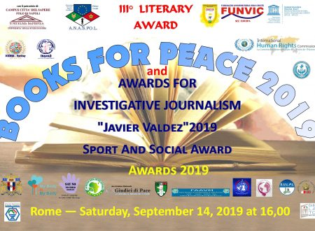 FUNVIC EUROPA insieme a BOOKS for PEACE 2019