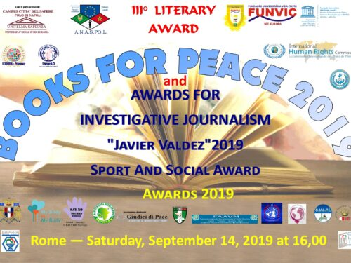FUNVIC EUROPA with BOOKS for PEACE 2019