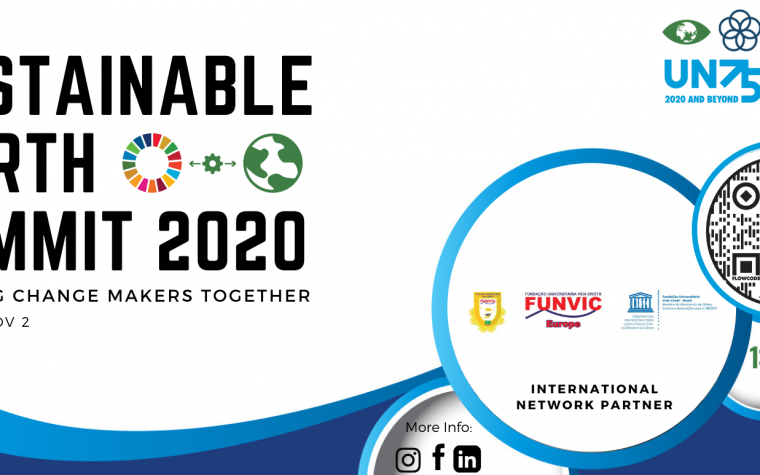 FUNVIC EUROPA partner speaker at the Sustainable Earth Summit 2020