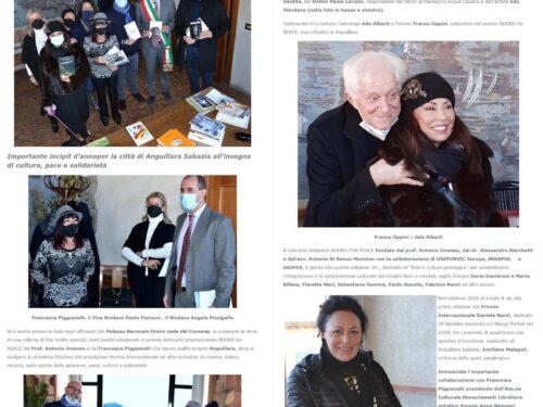 Funvic Europa e Books for Peace donano i libri alla Biblioteca di Anguillara Sabazia