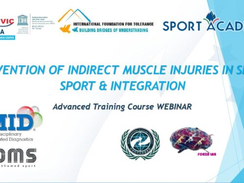 PREVENTION OF INDIRECT MUSCLE INJURIES IN SPORT – International webinar